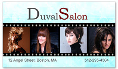 BCS-1103 - salon business card
