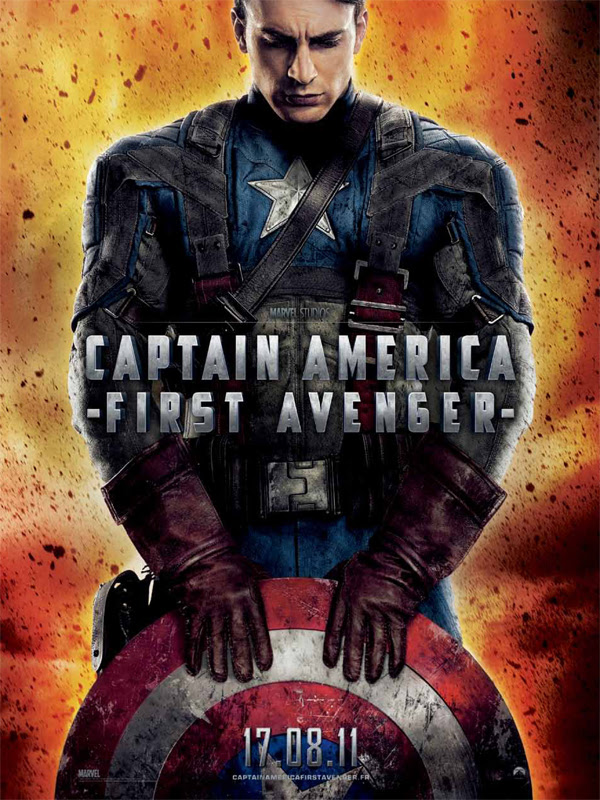 """Résultat de recherche d'images pour """"affiche captain america first avenger"""""""