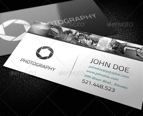 33 Cool Photographer Business Cards (PSD and Examples)   Ginva