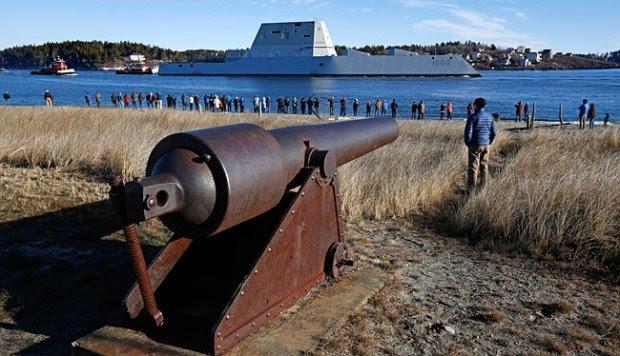 Amerika Serikat Luncurkan Kapal Destroyer Tercanggih