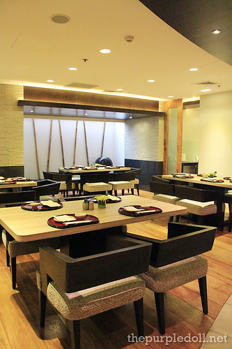 Kitsho Dining Area