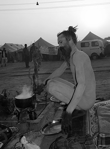 The Early Morning Chai... Maha Kumbh by firoze shakir photographerno1