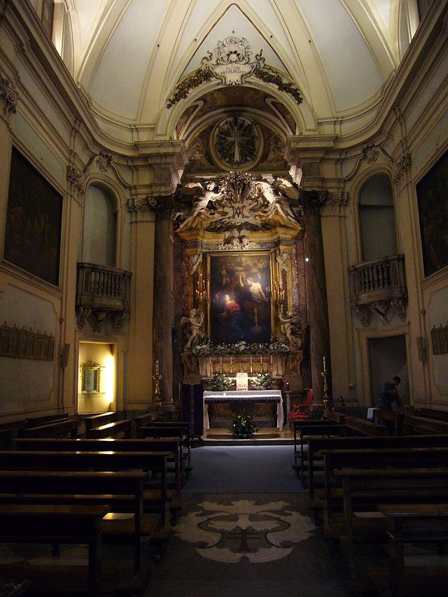 Borgo - oratorio dell Annunziata interno 1010916.JPG