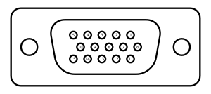 DE15 Connector Pinout.svg