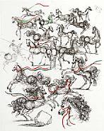 Salvador Dalí - Blue Horses (Prints)