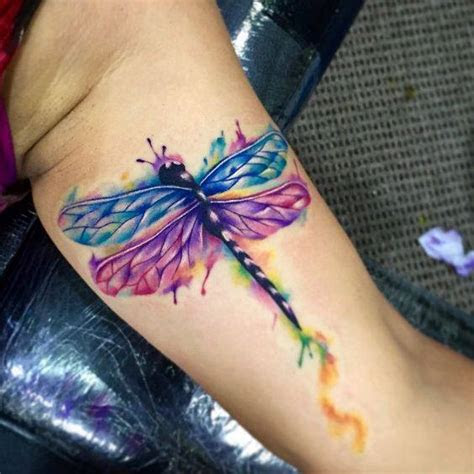 beautiful dragonfly tattoos collection