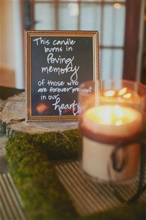 Best 25  Wedding memorial table ideas on Pinterest