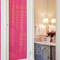 pink-and-gray-bathroom - Design, decor, photos, pictures, ideas ...