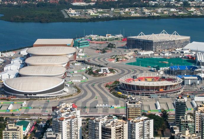 Rio 2016 Parque Olímpico vista aérea (Foto: Gabriel Heusi/Brasil2016.gov.br)