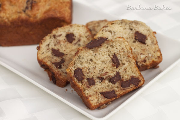 Chunky Monkey Banana Bread | Barbara Bakes