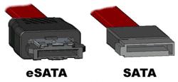 SATA & eSATA cables