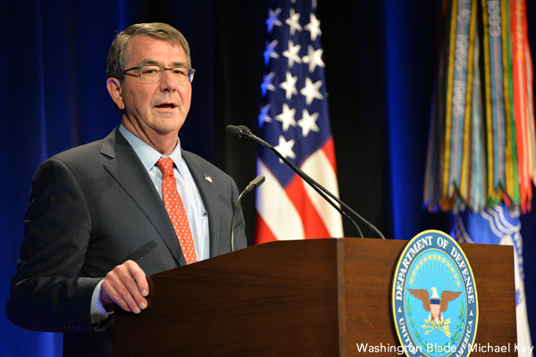 national news, Ashton Carter, Department of Defense, gay news, Washington Blade