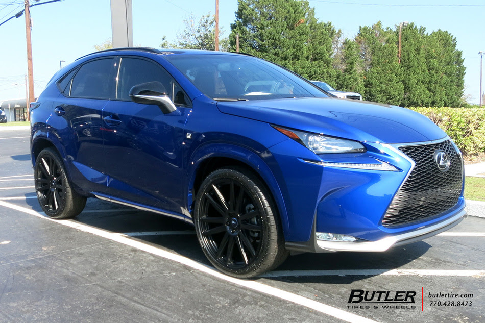Lexus Nx With 22in Tsw Gatsby Wheels Exclusively From Butler Tires And Wheels In Atlanta Ga