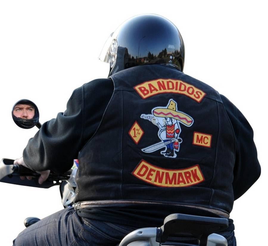 Seks medlemmer af Bandidos er tiltalt for afpresningsforsøg af et tidligere medlem af klubben. (Foto: Kenneth Meyer)