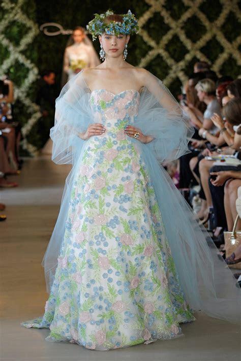 Oscar de la Renta Spring 2013 Bridal Dress Collection
