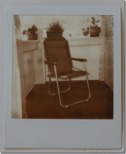 The First Picture with PX 600 Silver Shade / First Flush Monochrome Instant Pictures
