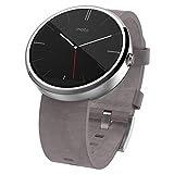 モトローラ Moto 360 Smart Watch スマートウォッチ 腕時計 Android Wear【並行輸入品】 (ストーン レザー)