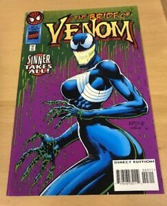 The Bride Of Venom Comic Book
