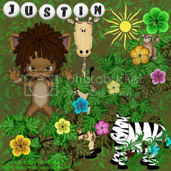 Jungle Love,Wizard of Oz,Kids Tags,Lion