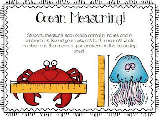 A day in first grade: Ocean weeks continue -- peek at my week!