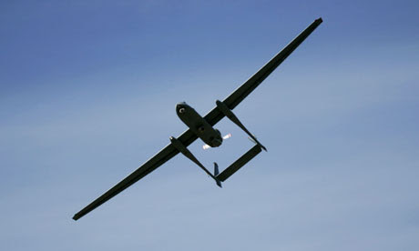 The Israeli army's Heron unmanned drone