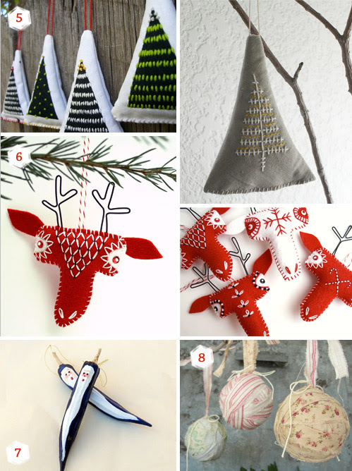11 Christmas ornaments ideas for your special handmade holidays ...
