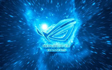 Photo Collection Asus Rog Wallpaper Blue