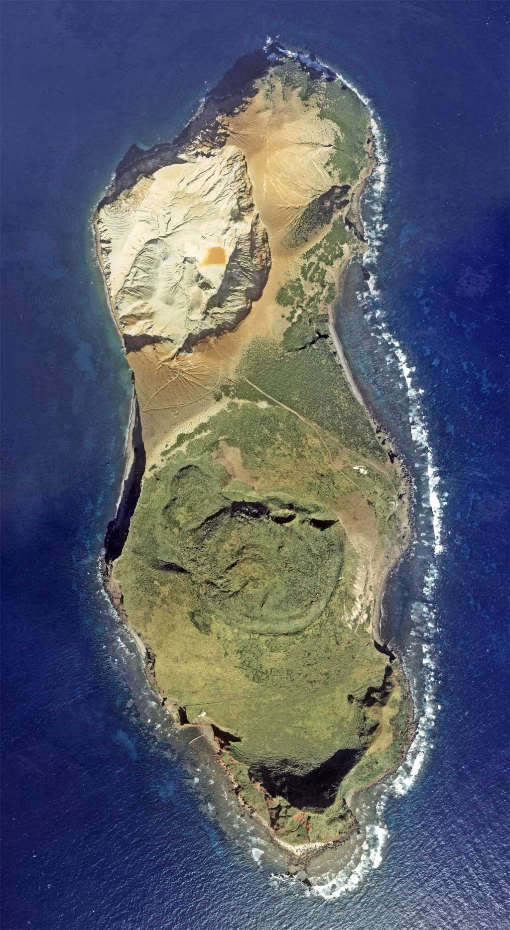 le volcan Iwo-tori-shima