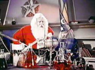 Santa & Merlin