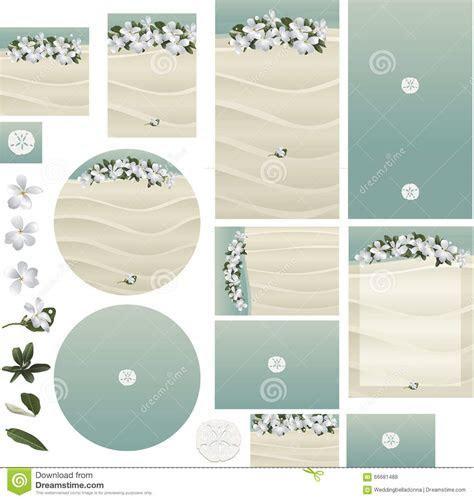 Beach Tropical Frangipani Flowers On White Sand Wedding