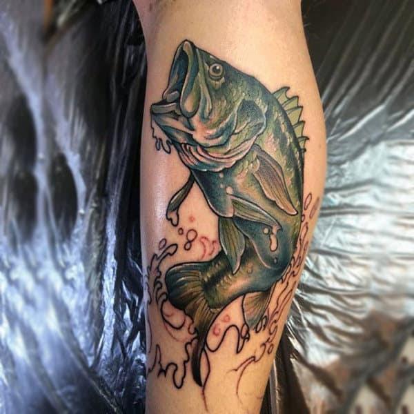 Bass Fishing Tattoos Tattoo Image Collection