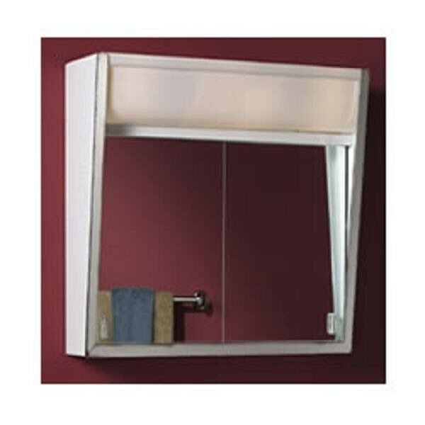 lighted bathroom medicine cabinet lighted steel recessed medicine cabinet stainless steel 22678