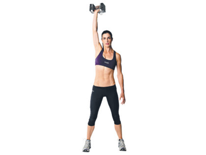 3. One-arm dumbbell moves