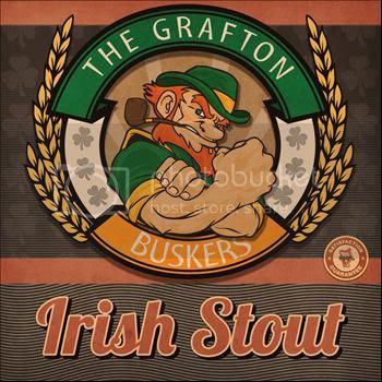 Irish Stout 100% Proof by The Grafton Street Buskers