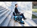 Vem aí a primeira cadeira de rodas capaz de subir escadas