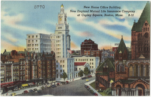 New Home Office Building, New England Mutual Life Insuranc ...