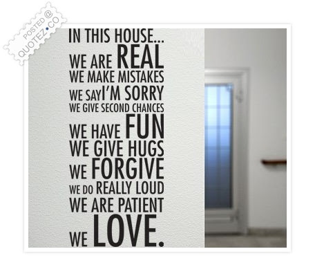 In This House Love Quote Quotezco