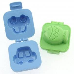 Japanese Bento Accessory Egg Mold Fish Car for Bento Decoration