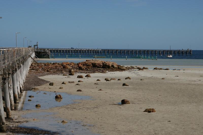 Moonta Bay jetty