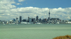 Photo of the Auckland (New Zealand) skyline