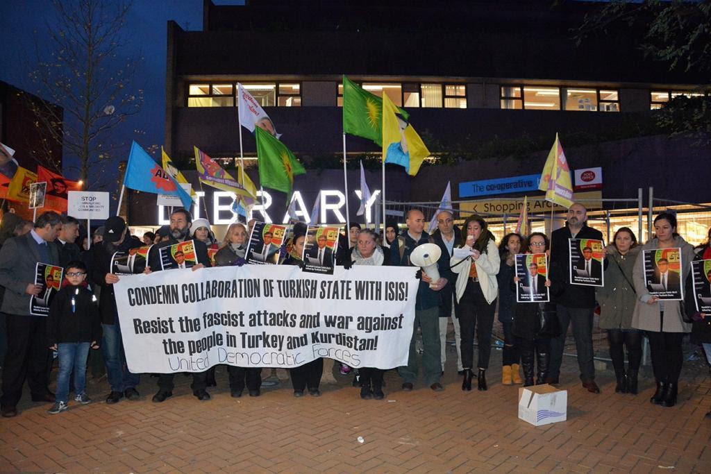 Elçi'nin Katledilmesi Londra'da Protesto Edildi