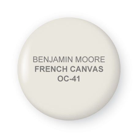 French Canvas paint by Benjamin Moore