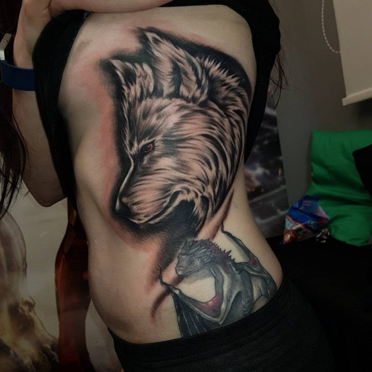 75 Best Rib Tattoos Designs Meanings All Types 2018