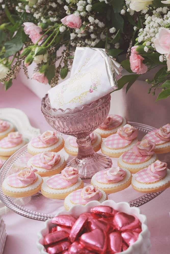 Bridal Shower Pretty Pink Girly Birthday Party Ideas 2167789