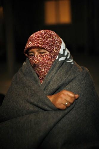 Winter is coming: Za'atari refugee camp, Jordan