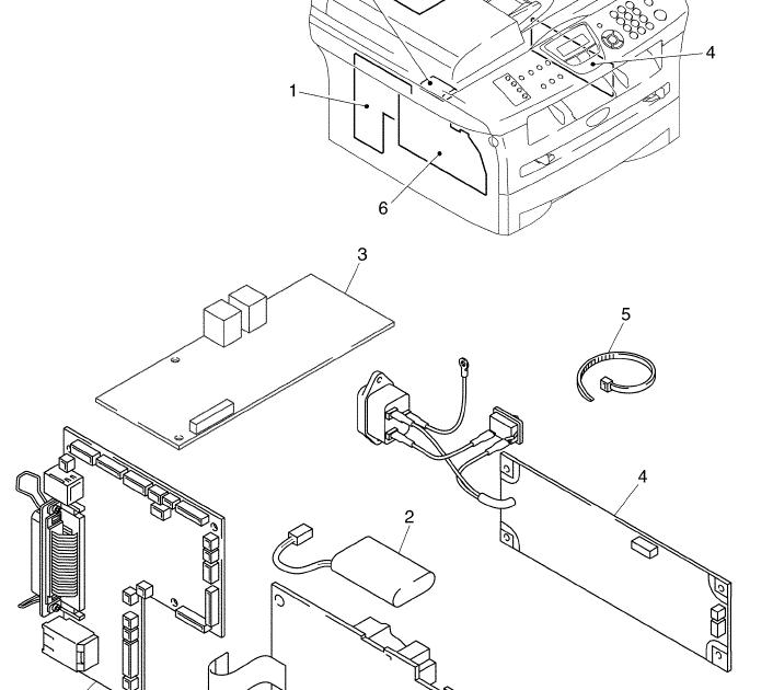 Wiring Diagram  31 Brother Printer Parts Diagram