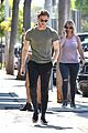 jamie bell flaunts toned arms on his way to lunch 01