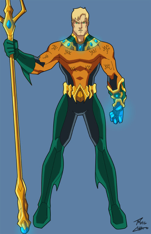 Aquaman by Phil Cho... click to see more
