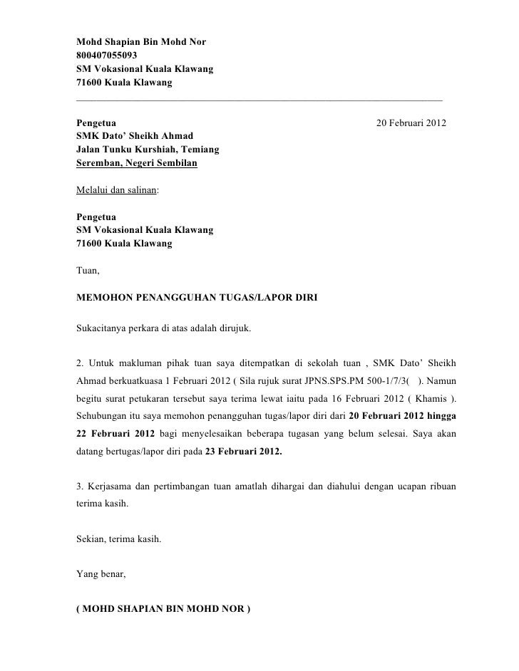 Format Surat Rasmi Scribd.html  Autos Weblog