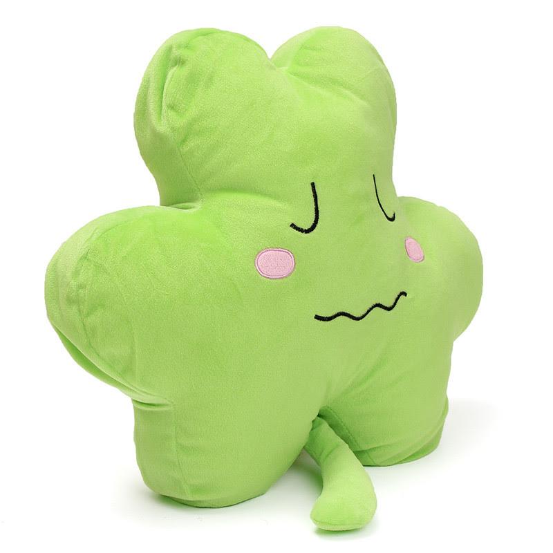 1PCS 40cm Cute Clover Shamrock Soft Stuffed Plush Toy ...